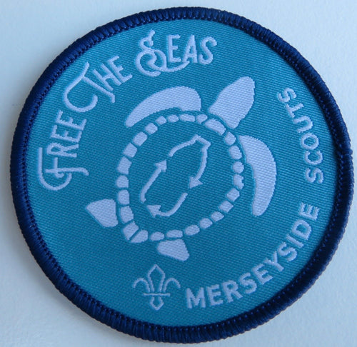 Free the Seas Plastics Project Badge