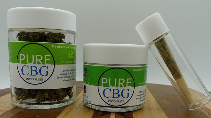 Pure CBG Hemp Flower