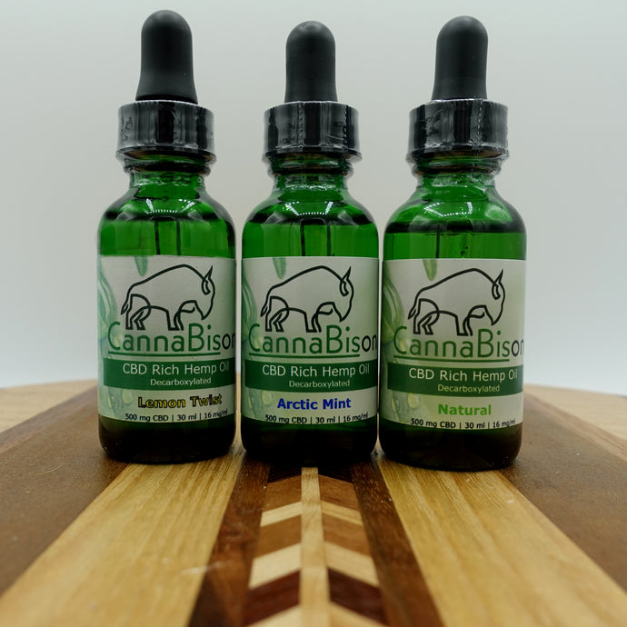 Hemp Oil Variety Pack
