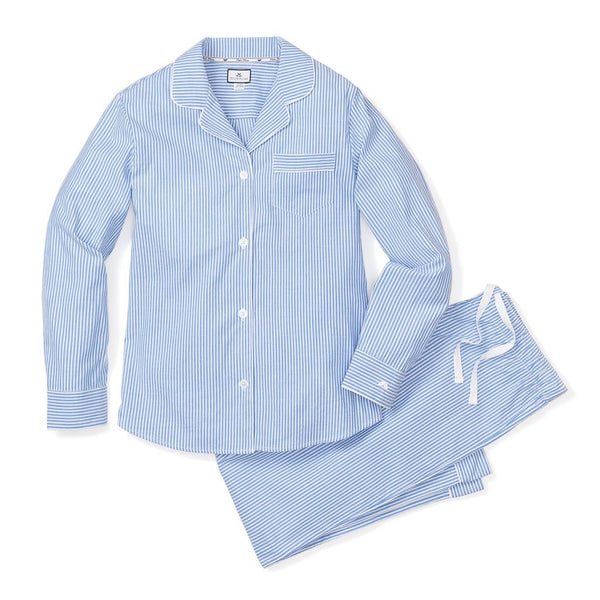 Men's French Blue Seersucker PJ Set