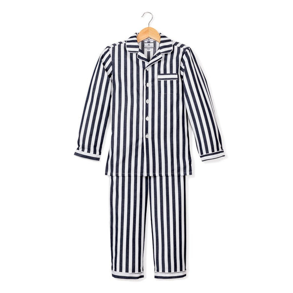 Navy Stripe PJ Set