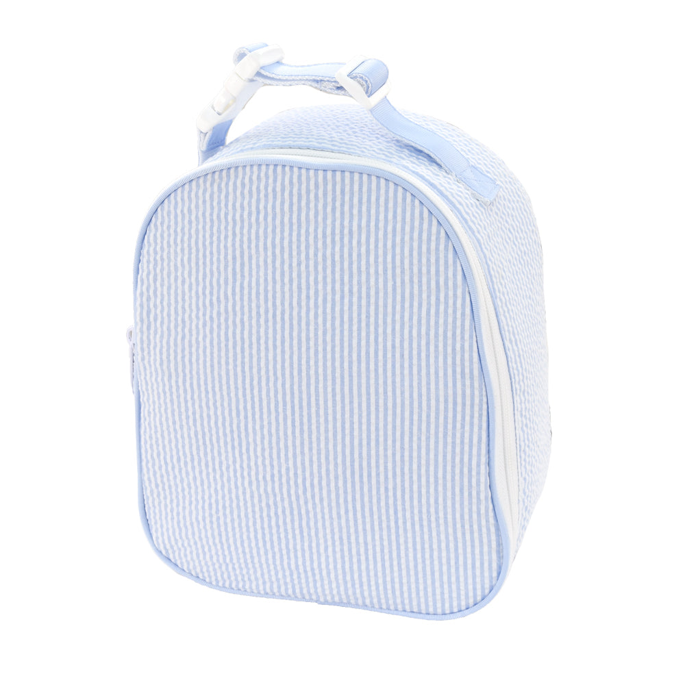 Baby Blue Seersucker Lunchbox