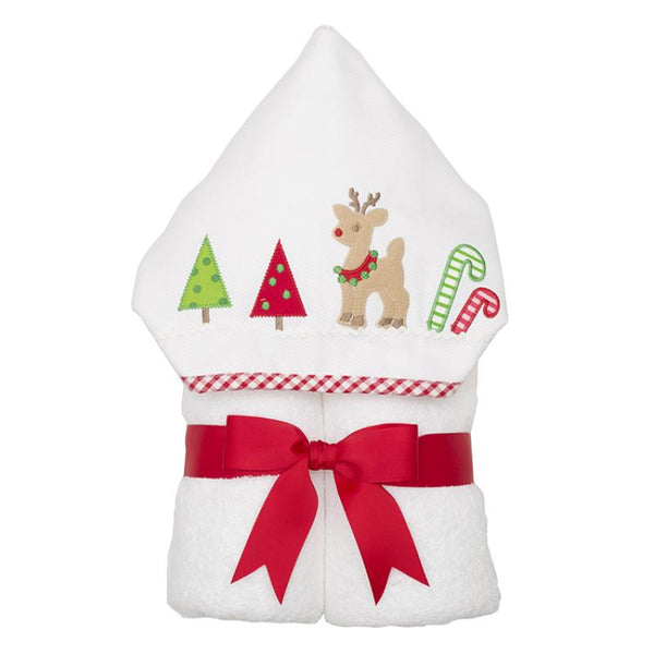 Christmas Reindeer Everykid Towel