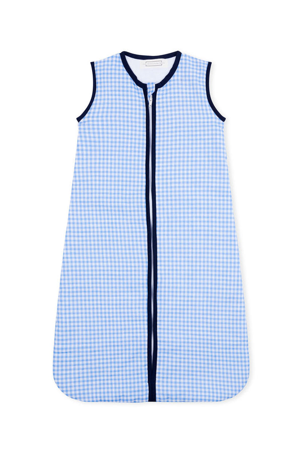 Blue Gingham Sleep Sack