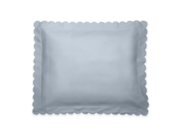 Hazy Blue Diamond Boudoir Pillow