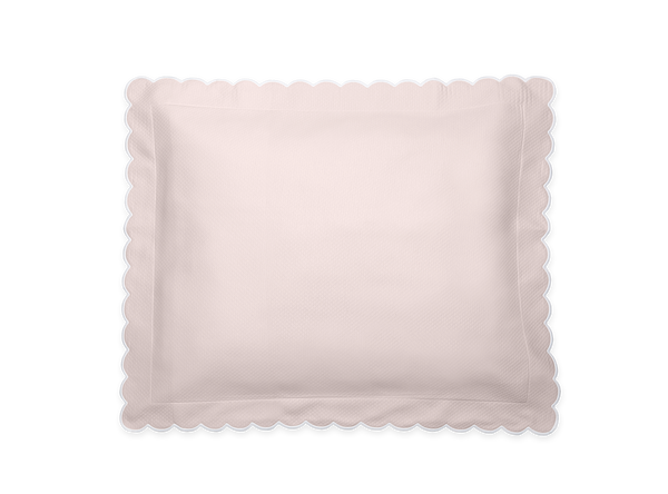 Pink Diamond Pique Boudoir Pillow
