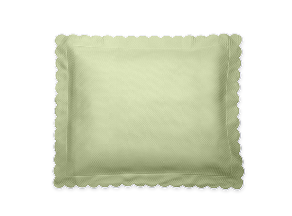 Spring Green Diamond Boudoir Pillow