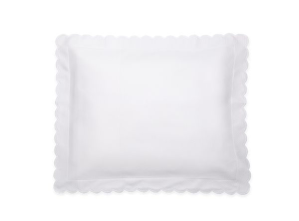 White Diamond Boudoir Pillow