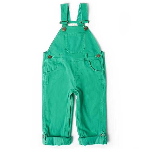 Emerald Green Dungaree