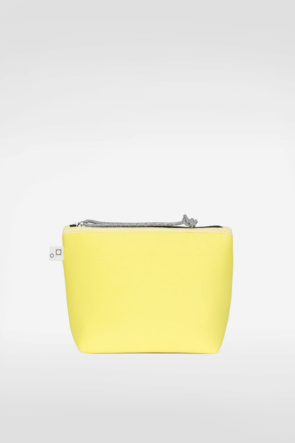 PETIT PIPER POUCH - BRIGHT LEMON