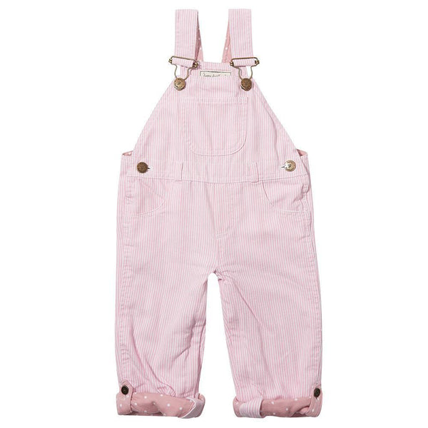 Pink Stripe Dungaree