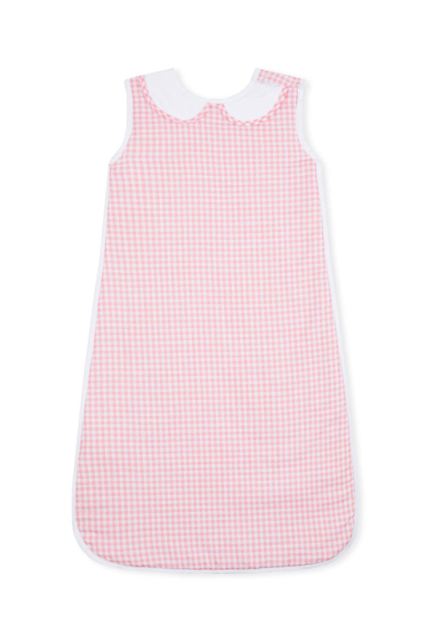 Pink Gingham Sleep Sack