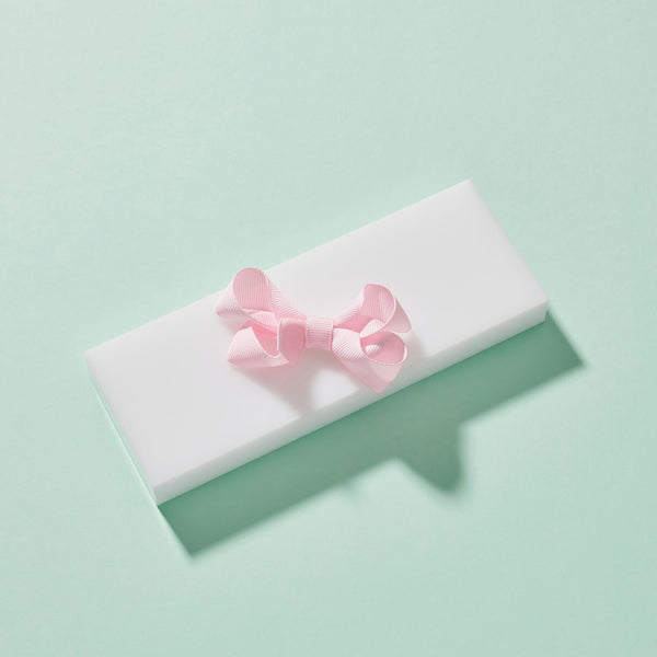 Pale Pink Small Bow