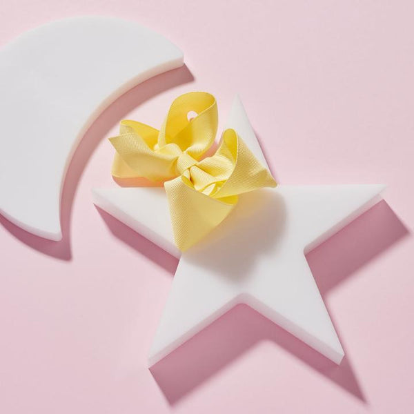 Banana Cream Medium Bow