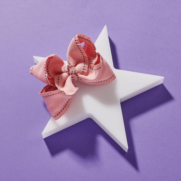 Ruffle Stitch Medium Bow