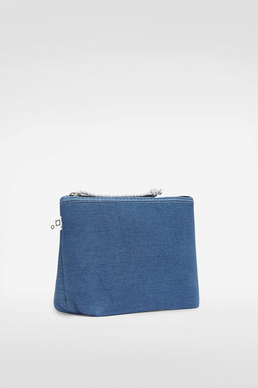PETIT PIPER POUCH DENIM
