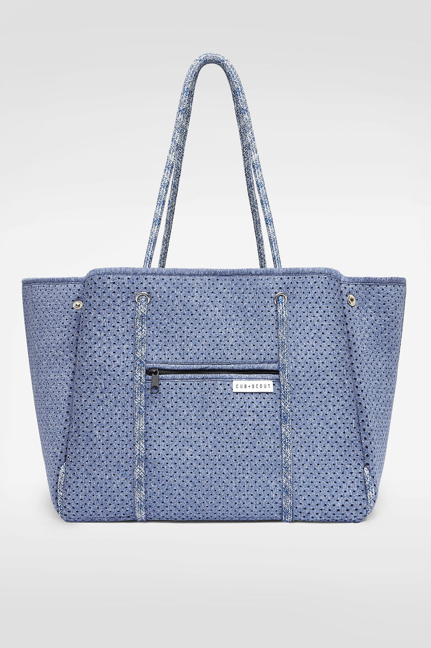 CS CARRYALL BLUE MARLE