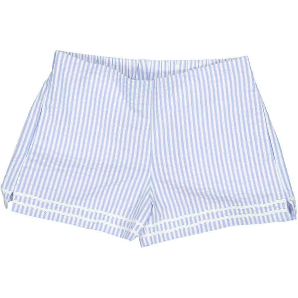 Harper Short - Blue And White Stripe
