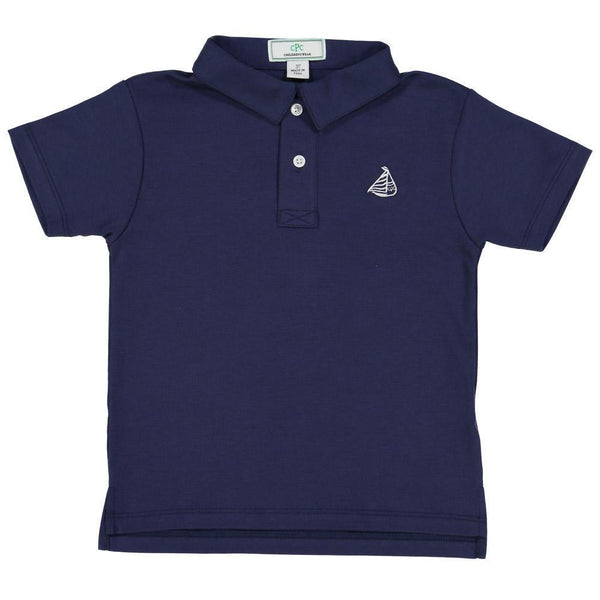 Henry Short Sleeve Polo - Blue