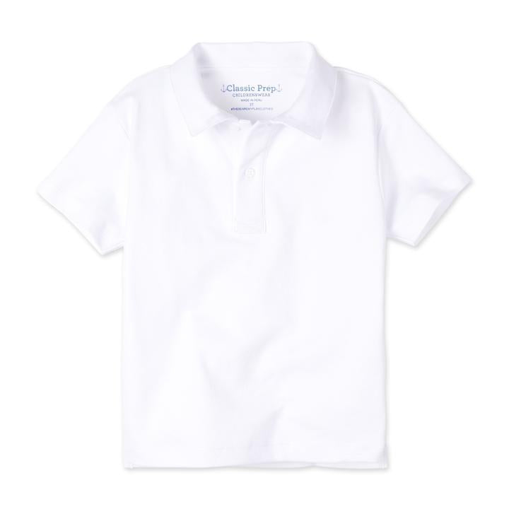 Henry Short Sleeve Polo - White