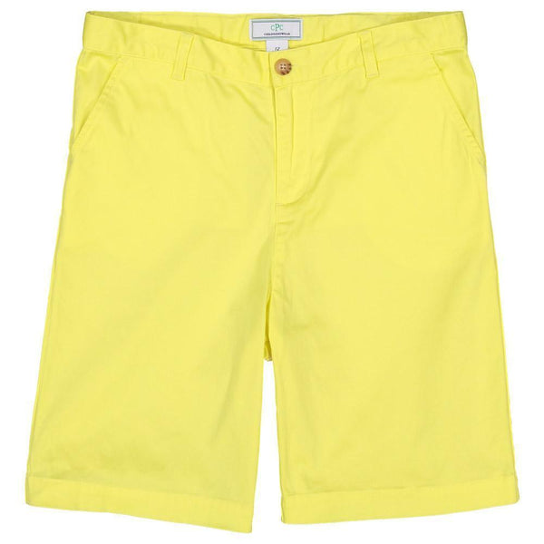Hudson Short - Limelight Yellow