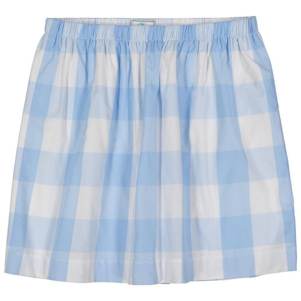 Kingsley Skirt - Blue Check
