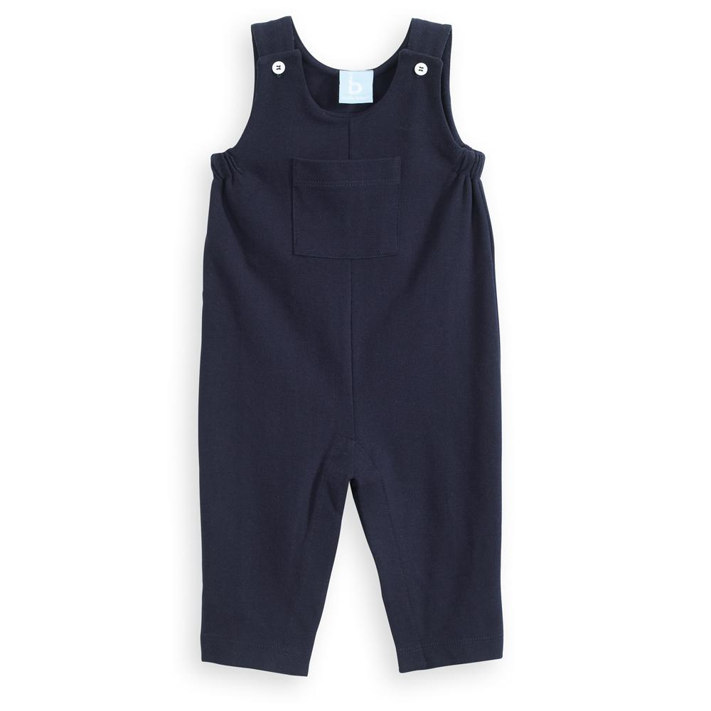 Navy Jersey Overall