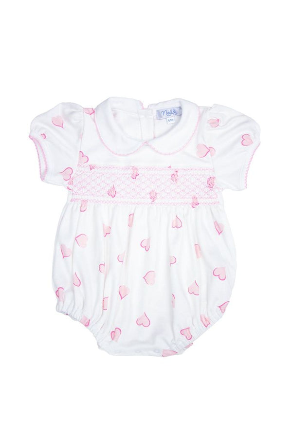 Heart Print Baby Bubble