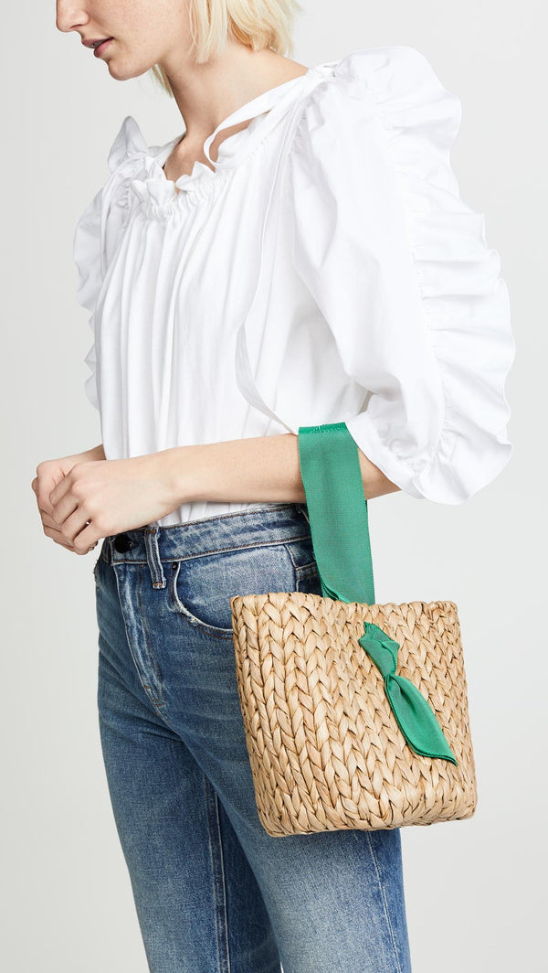 Bahia bucket Bag Emerald