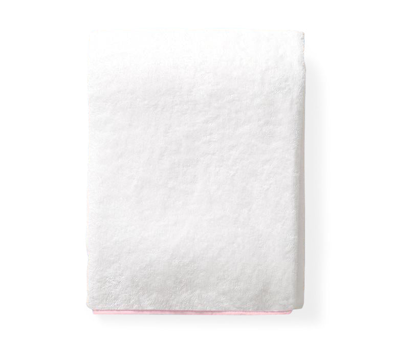 Pale Pink Piped Edged Towels