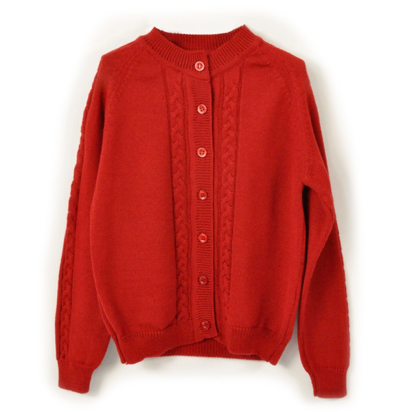 Kate Cardigan - Crimson Tabasco
