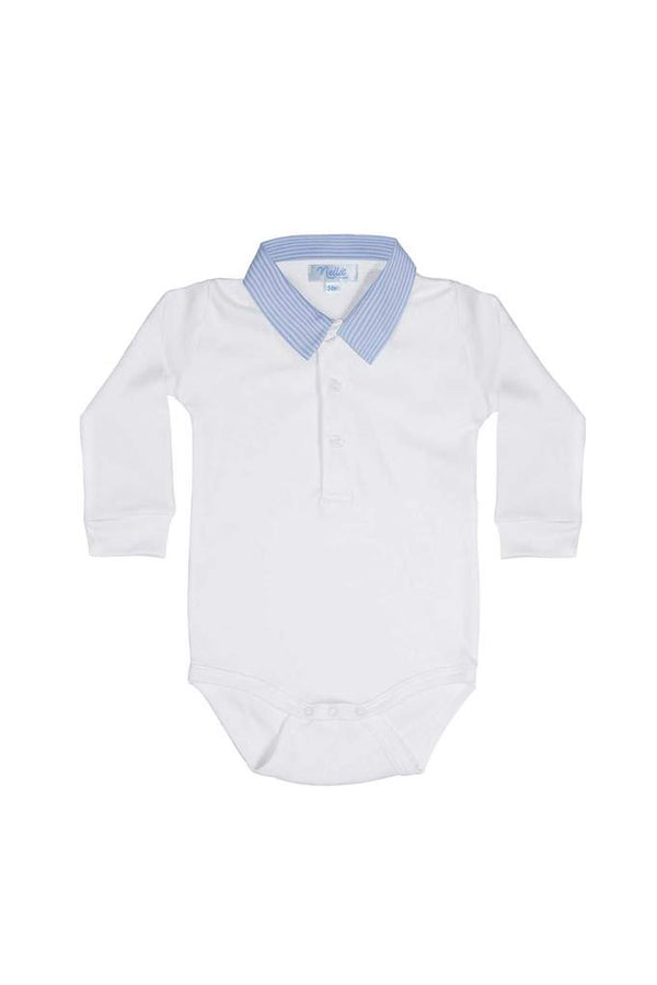 Thomas Baby Onesie - Blue Stripe