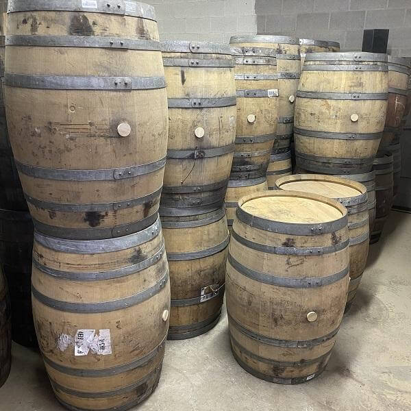 High-Quality Napa Valley Wine Barrels (59 Gallons, Used)