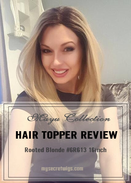 Affordable 613 Platinum Blonde Ombre Real Human Hair Toppers For Volume: Product Review