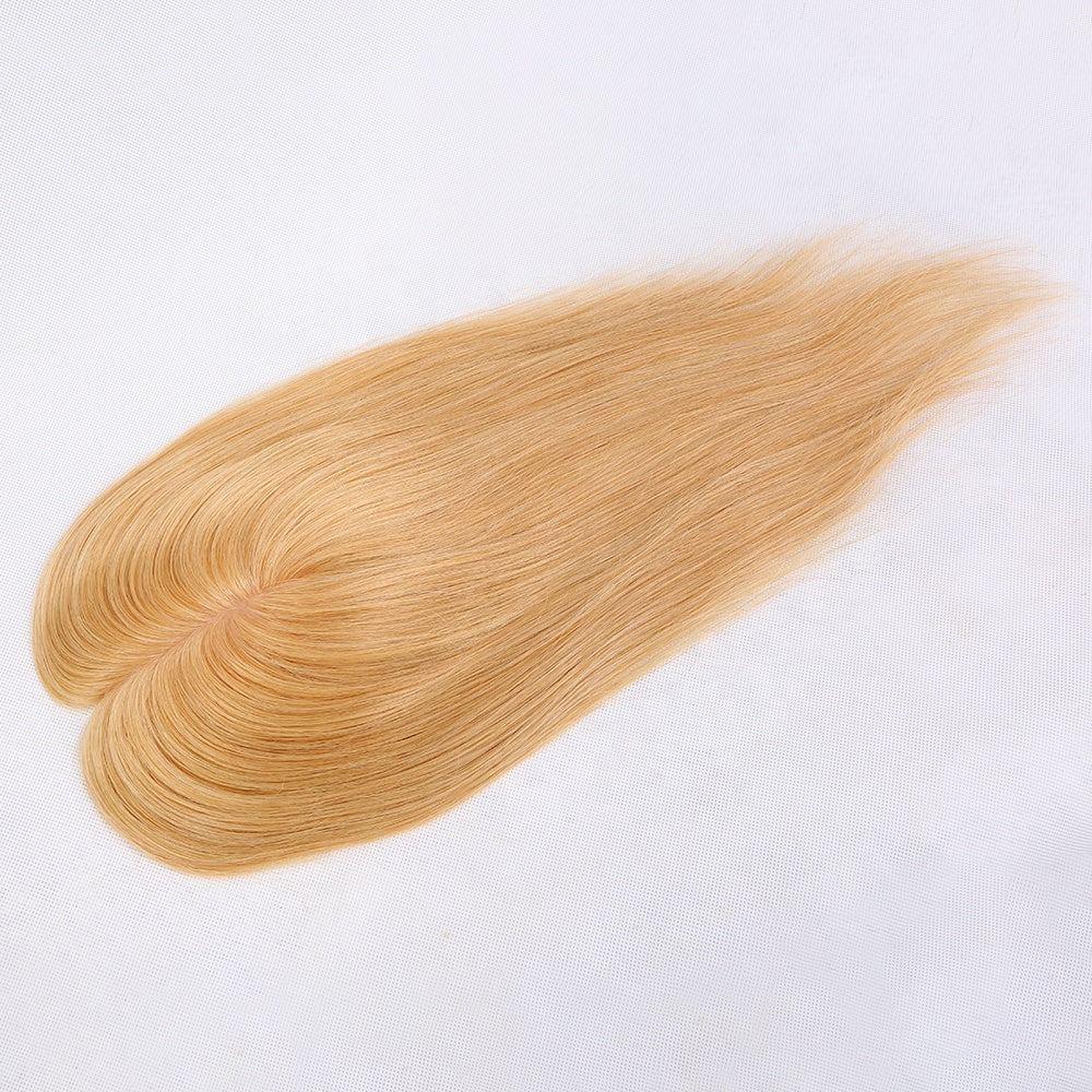Blonde-Women's-Hair-Toppers-For-Thinning-Hair