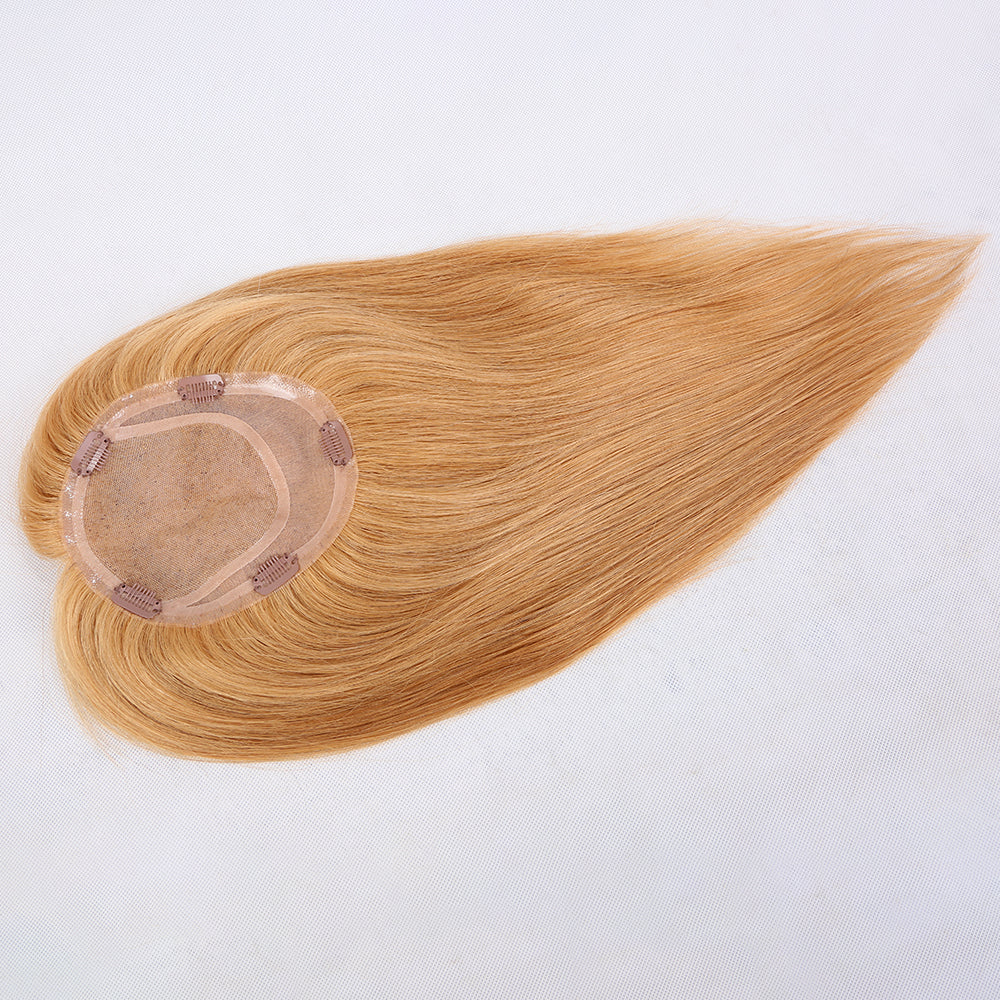 Mono-Top-With-4x4-Silk-Base-Blonde-Human-Hair-Toppers