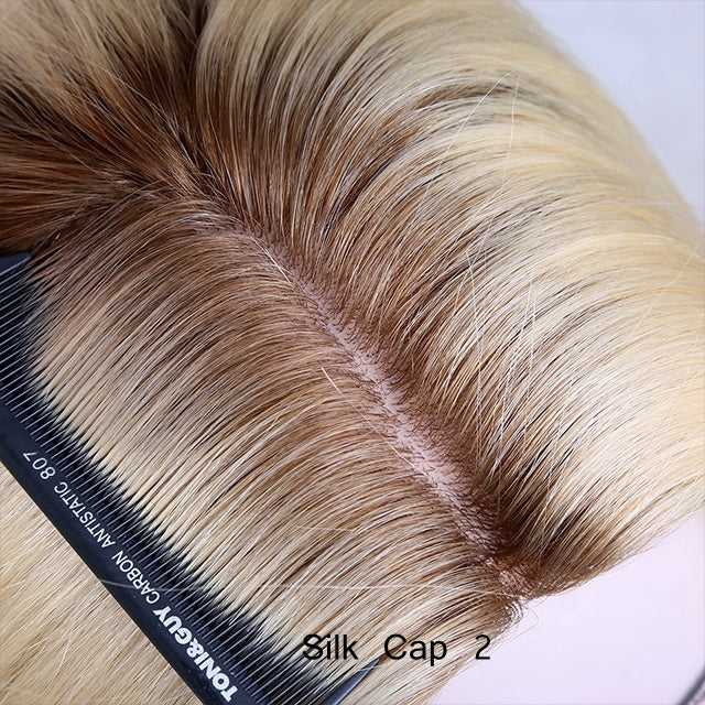 Custom-Made-Blonde-Rooted-Human-Hair-Wigs-For-Cancer-Patients
