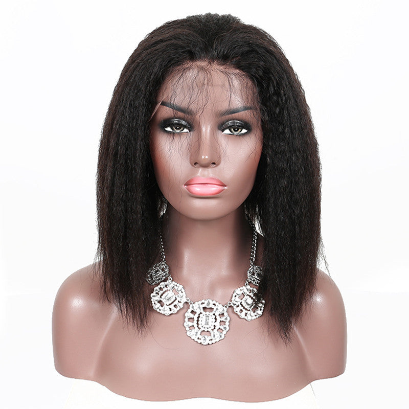 Yaki-Straight-Bob-Remy-Human-Hair-Wigs-For-Women
