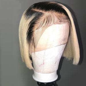 Bob-Blonde-Lace-Front-Human-Hair-Wigs