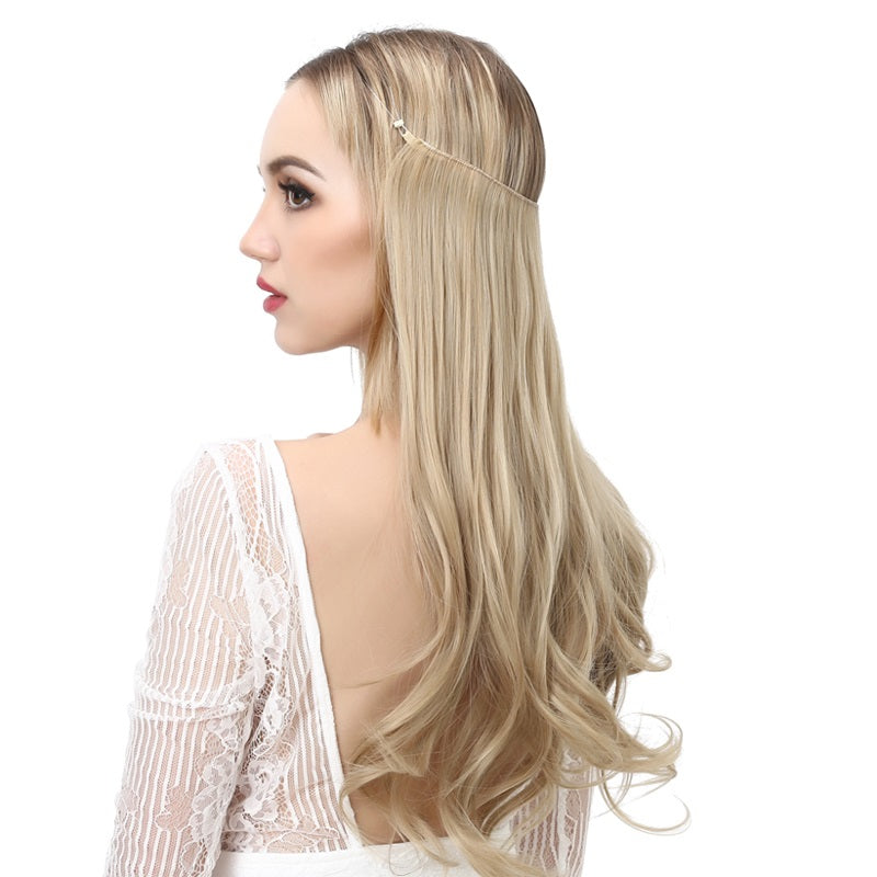 Ombre-Bayalage-Heat-Friendly-Synthetic-Hair-Natural-Wave-Halo-Hair-Extensions-Flip-Crown-Extensions-Long