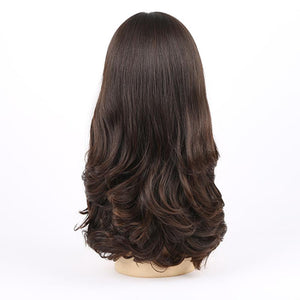Dark-Roots-Highlights-Wavy-European-Virgin-Human-Hair-Wigs-For-White-Women