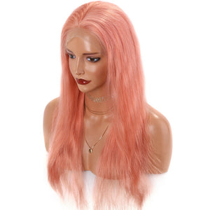 Light-Pink-Wigs-Lace-Front-Human-Hair-Wigs-For-Black-Women
