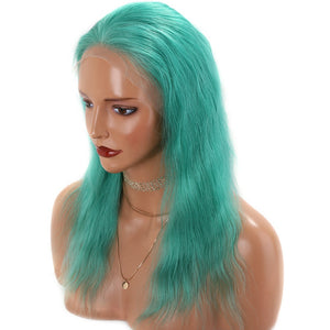 Green-Lace-Front-Human-Hair-Wigs