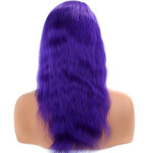 Long-Purple-Brazilian-Straight-Lace-Front-Human-Hair-Wig-For-Black-Women