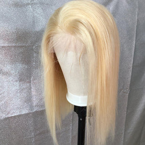 Deep-Part-Brazilian-Virgin-Hair-Bob Wig-For-Black Women