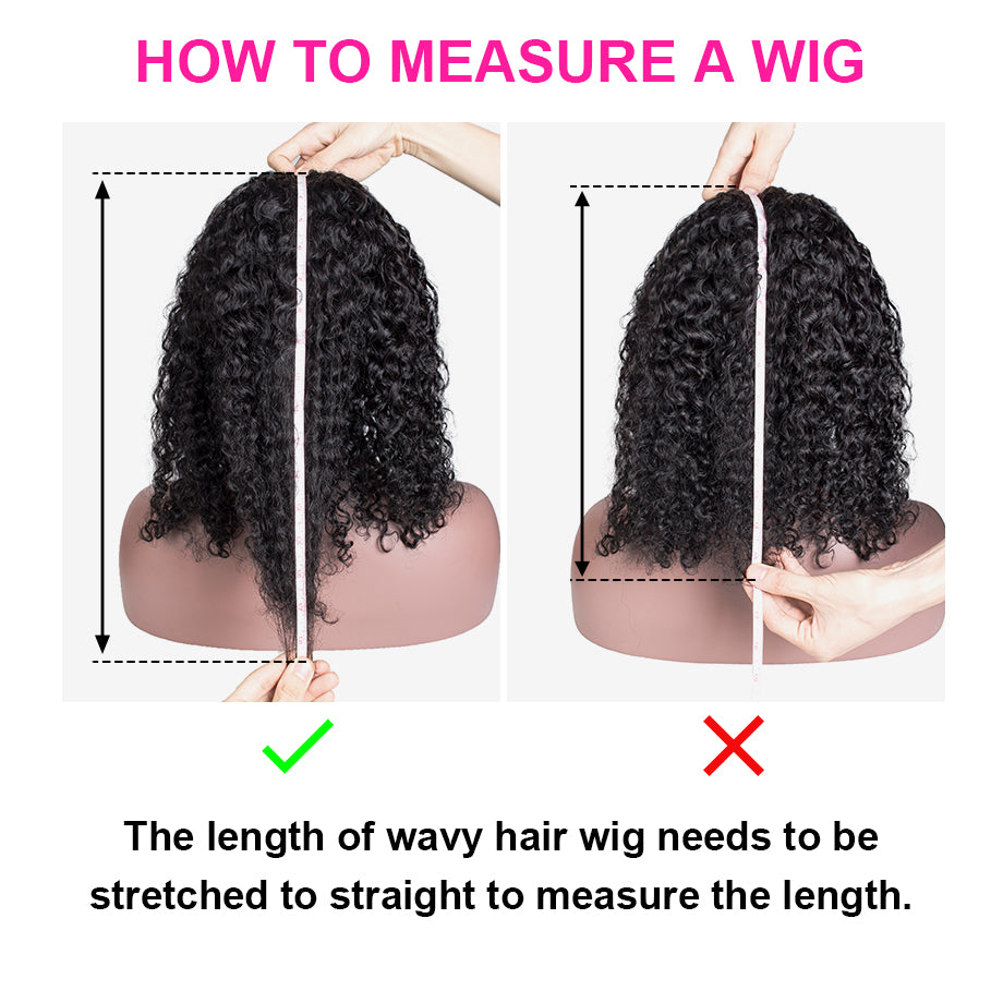 Cheap Black Short Medium Length Jerry Curly Lace Front Wigs With Baby Hair Brazilian Remy Hair For Women