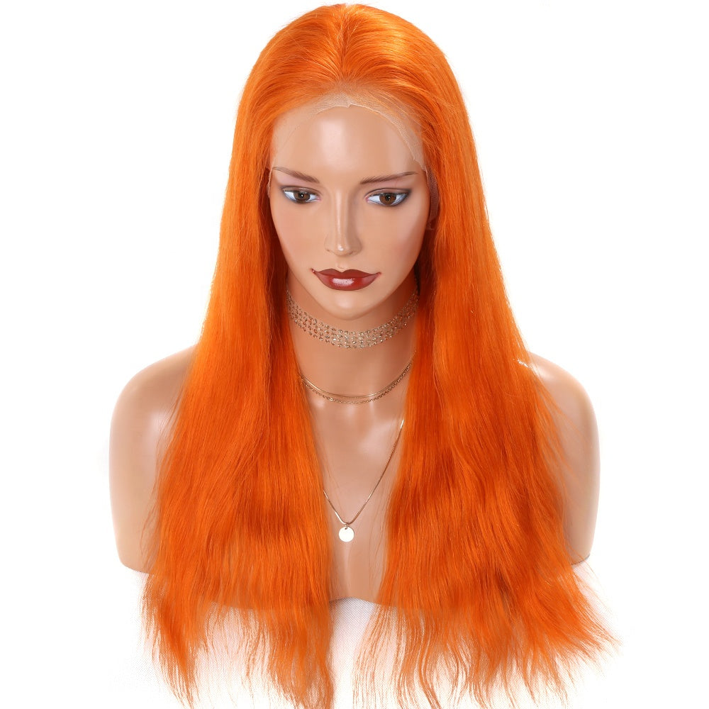 Long-Orange-Colored-Lace-Front-Wigs-Brazilian-Remy-Hair