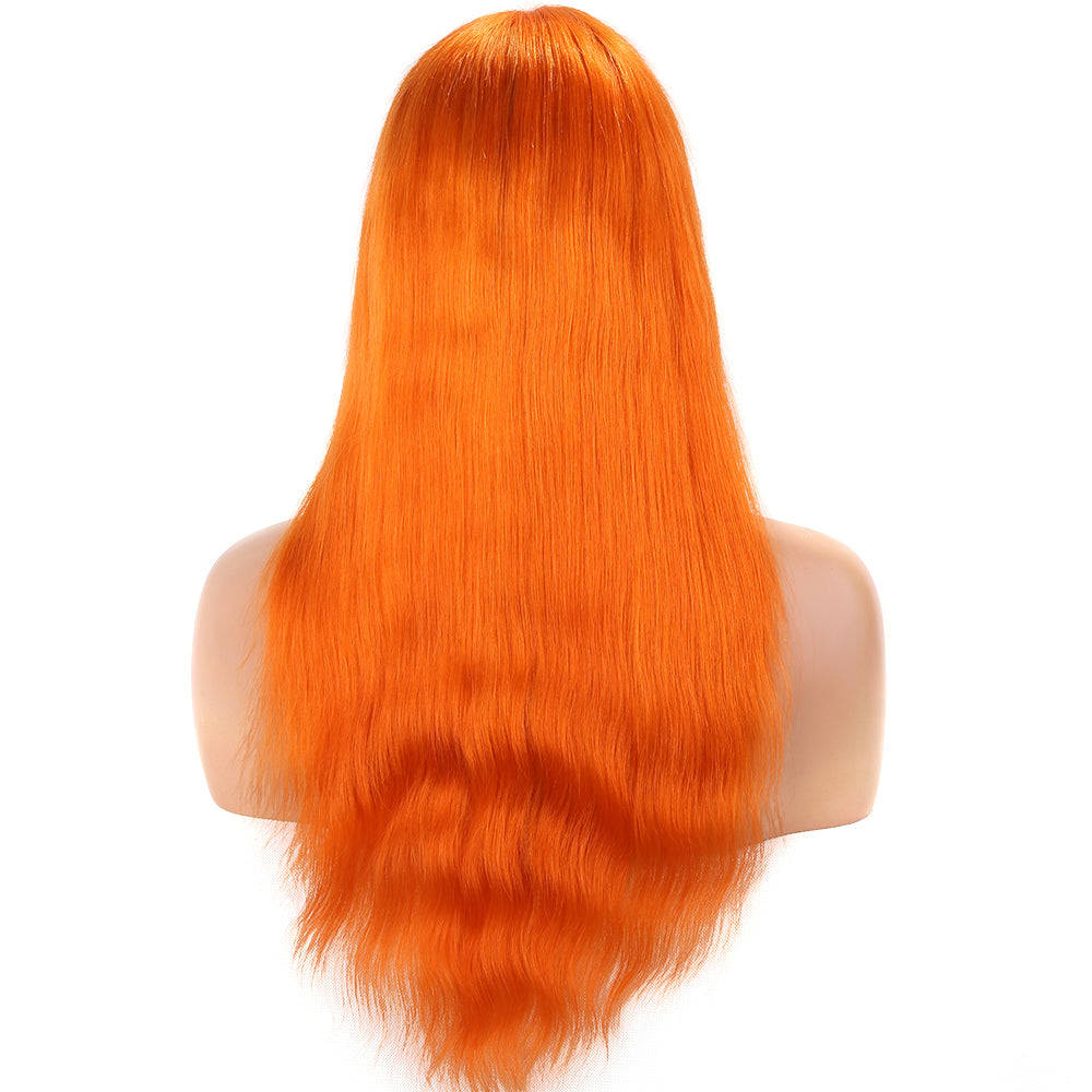 Orange-Bob-Lace-Front-Wigs-for-Black-Women-Long-Straight
