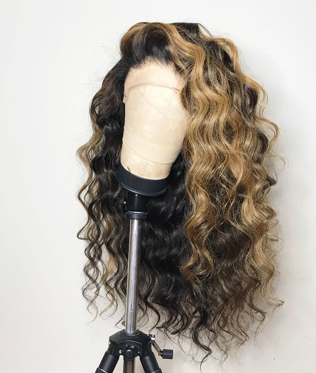 Virgin-Cambodian-Curly-Hair-Ombre-Balayage-Lace-Front-Wig
