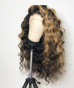 Brown-Highlighted-Lace-Front-Wigs-Raw-Virgin-Cambodian-Curly-Hair-Ombre-Balayage-Lace-Front-Wig